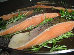 Fish is a great element of healthy diet