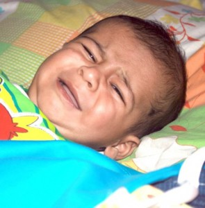 Bed wetting is normally seen in children up to the age of 3 years.