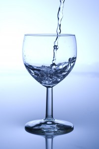Drinking a lot of water is healthy provided its source is good and hygienic.