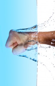 Excessive sweating may also result in excessive loss of water.
