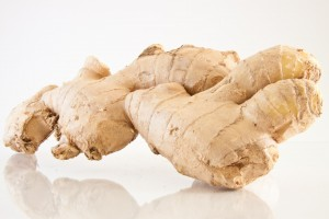 Ginger contains many chemicals which have anti-inflammatory properties.